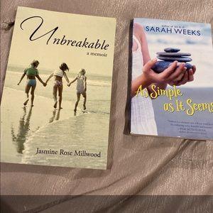 NWT two inspiring books